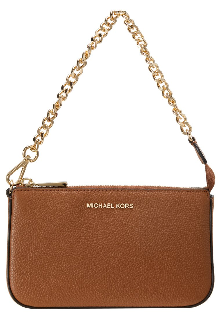 Michael Kors Jet Set Medium Camera Bag Brandy i röd
