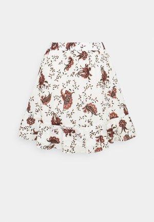 ASTER OHLINE SKIRT - Mini skirt - offwhite