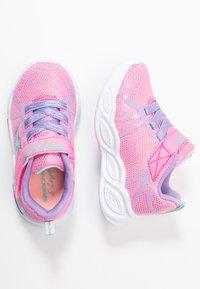 Skechers - SHIMMER BEAMS - Tenisky - pink sparkle/multicolor - 1