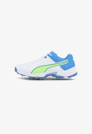 SPIKE 19.1 MEN'S CRICKET - Trainers - puma white-nrgy blue-green