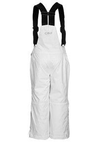CMP - SALOPETTE UNISEX - Spodnie narciarskie - bianco - 1