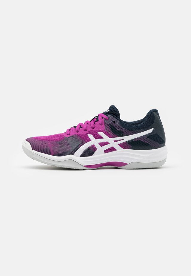 GEL TACTIC - Volleyball shoes - digital grape/white