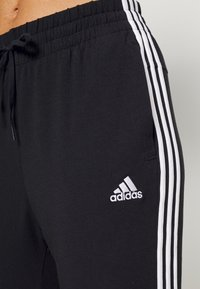 adidas Performance - Pantaloni sportivi - black/white - 4