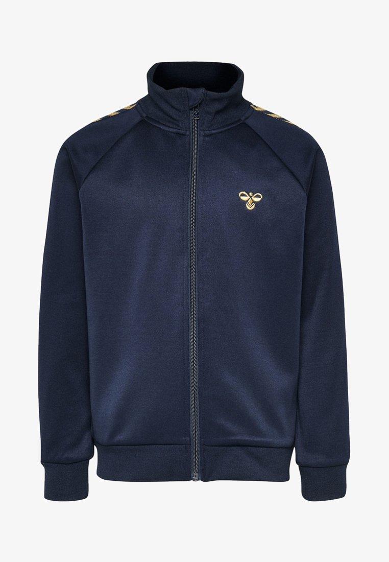 Hummel - HMLKICK - Training jacket - black iris/gold
