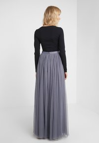 Needle & Thread - DOTTED MAXI SKIRT - Plisséskjørt - thistle blue - 2