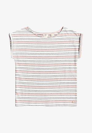 AFRICAN SUNSET - Print T-shirt - snow white