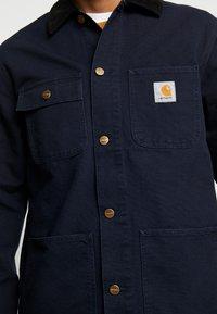 Carhartt WIP - MICHIGAN COAT DEARBORN - Summer jacket - dark navy rinsed - 5