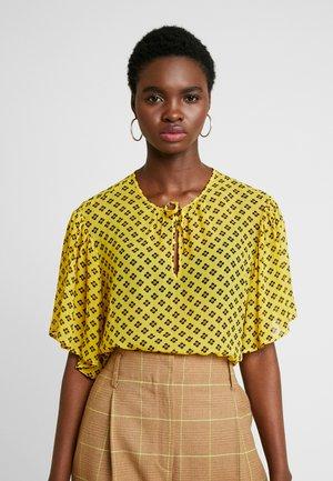 MELIE - Bluser - yellow/black