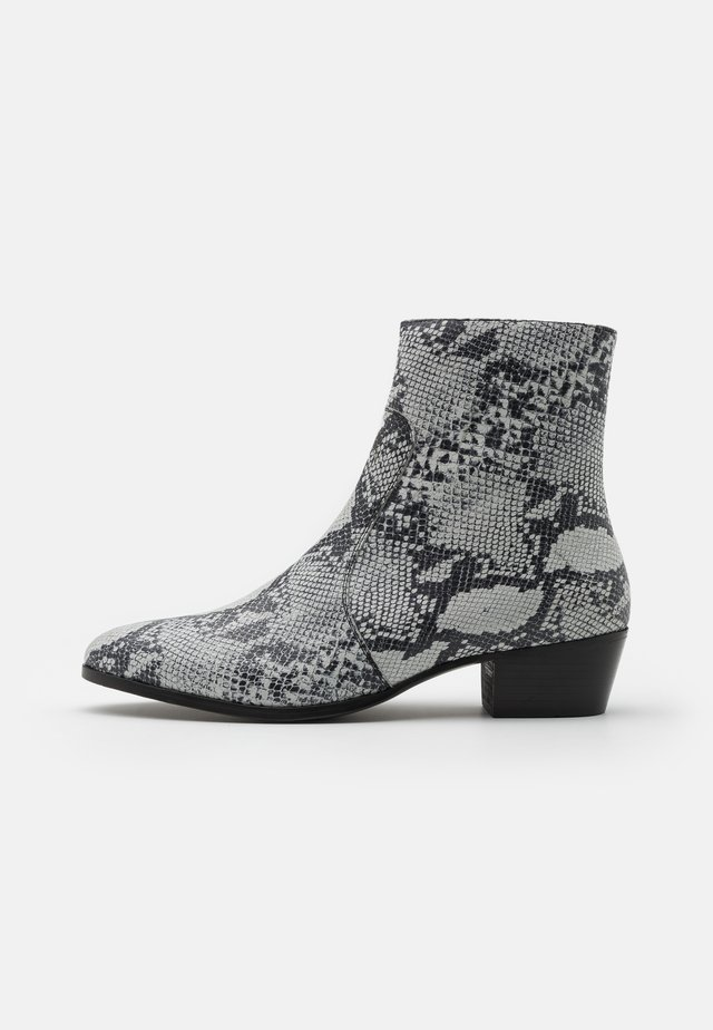 ZIMMERMAN ZIP BOOT - Bottines - grey