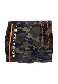 WE Fashion - Swimming briefs - army green - 1
