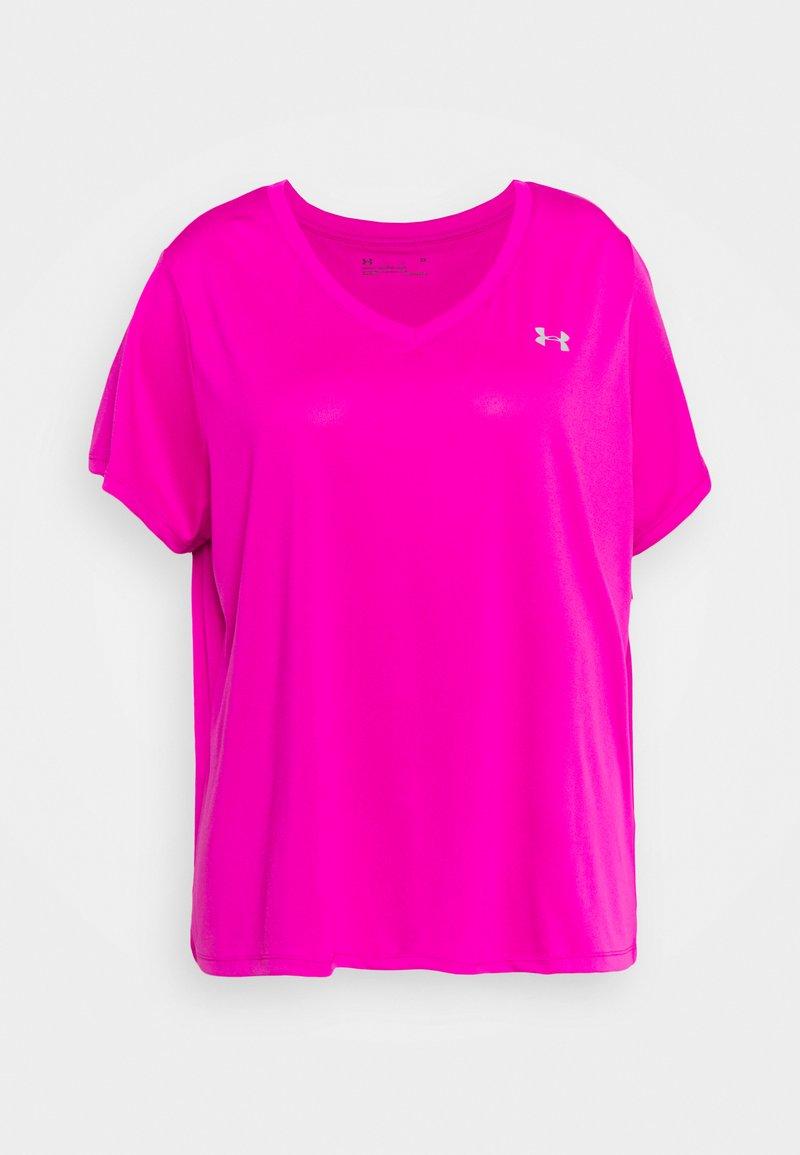 Under Armour - TECH - Basic T-shirt - meteor pink