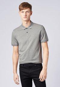 BOSS - PALLAS - Polo shirt - silver - 0