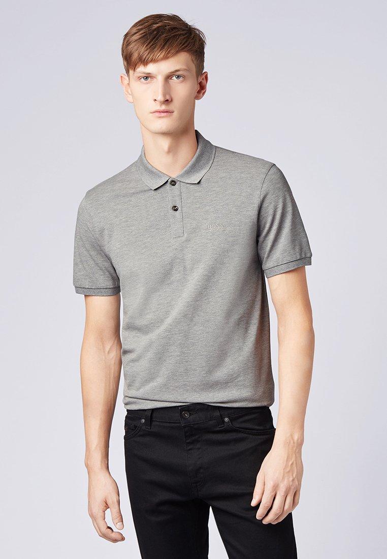 BOSS - PALLAS - Polo shirt - silver