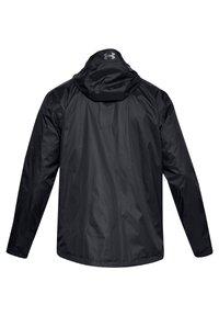 Under Armour - Regnjakke / vandafvisende jakker - black-steel (1321439-001) - 1