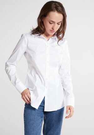 MODERN CLASSIC SLIM FIT - Button-down blouse - weiß