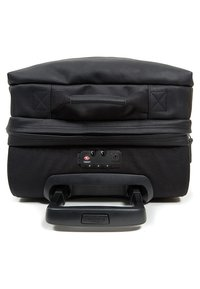 Eastpak - TRANVERZ S LEATHER REISEGEPÄCK - Trolleyväska - black ink - 5