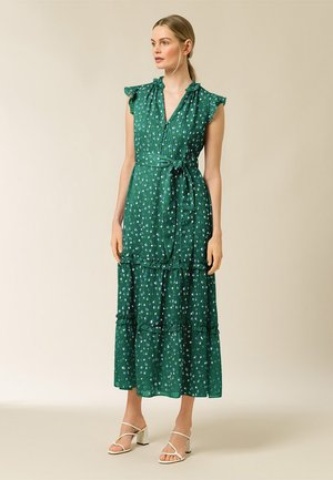Vestido informal - aop - painted dot eden green