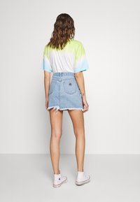 Abrand Jeans - SKIRT - Denim skirt - esmeralda - 2