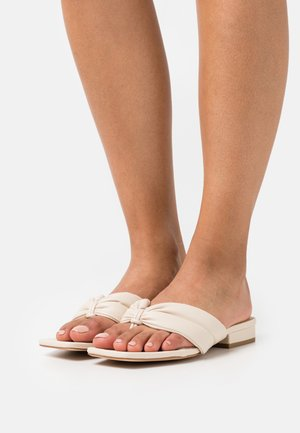 BETTI - T-bar sandals - cream