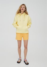 PULL&BEAR - Huppari - mottled light yellow - 1