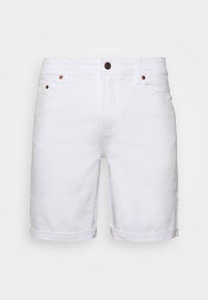 MR ORANGE - Jeansshort - white