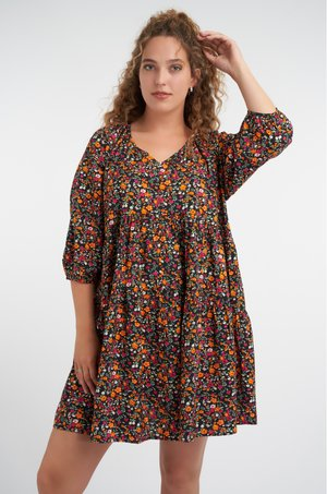 Day dress - multi pink-red