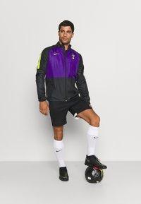 Nike Performance - TOTTENHAM HOTSPURS - Club wear - black/court purple/green - 1