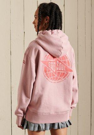 Hoodie - soft pink