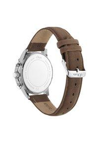 s.Oliver - Chronograph watch - braun - 2