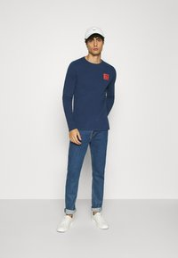 Petrol Industries - Long sleeved top - petrol blue - 1