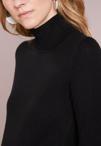 pure cashmere - TURTLENECK - Svetr - black - 4