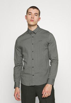 SLIM FIT STRETCH - Overhemd - pewter