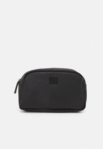JACCARLO TOILET BAG - Wash bag - black