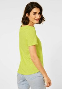 Cecil - Basic T-shirt - gelb - 1