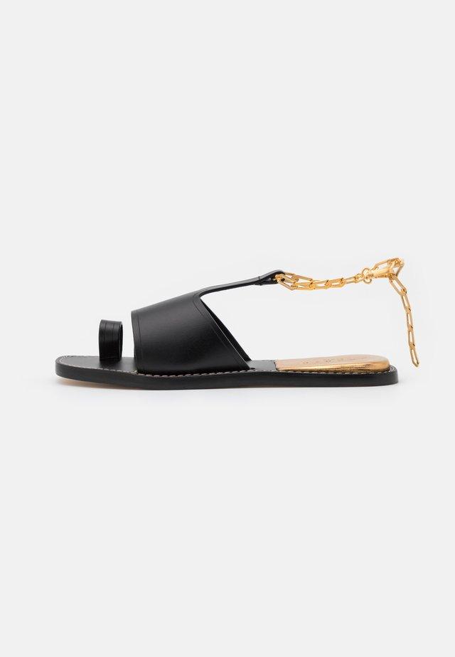 Sandály s odděleným palcem - noir