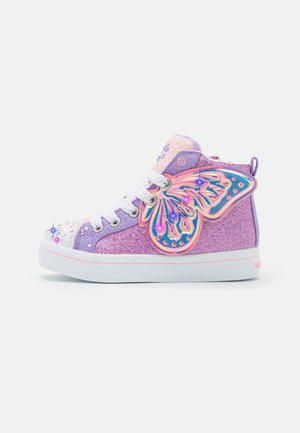 TWI-LITES 2.0 - High-top trainers - lavender/multi-coloured/light pink