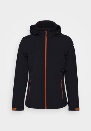 BIGGS - Kurtka Softshell - dark blue