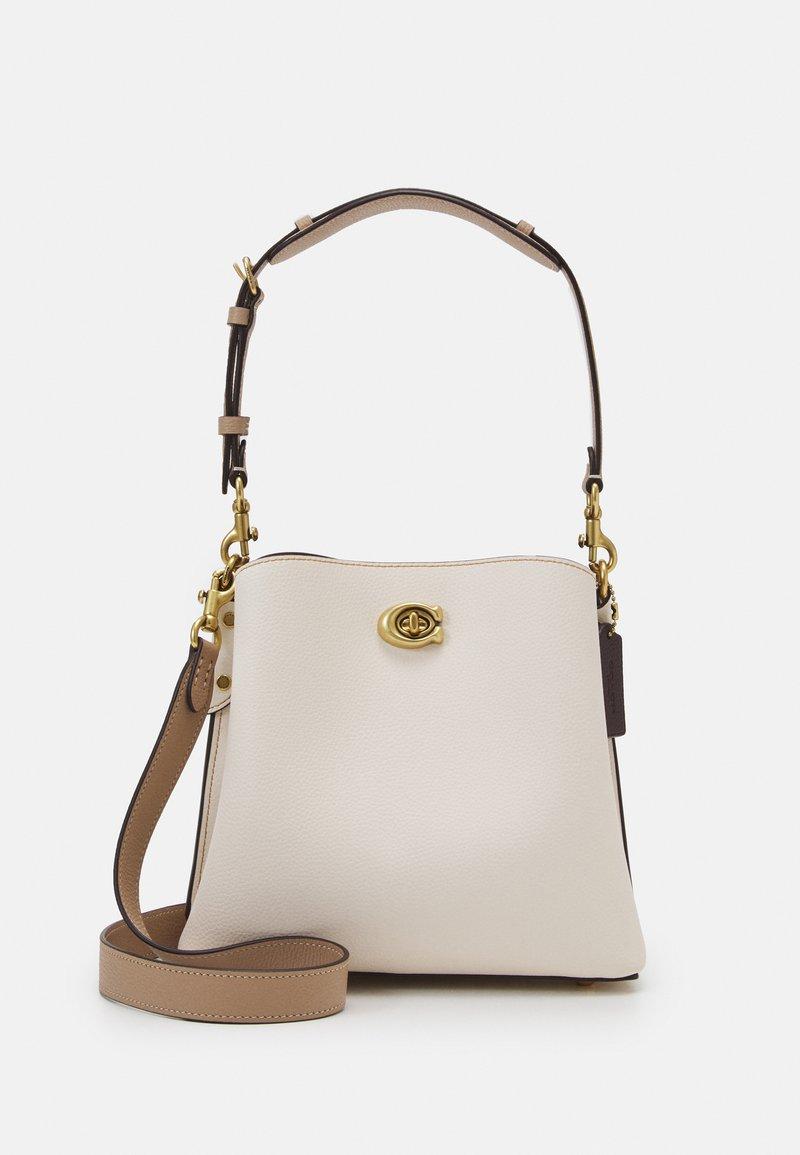 Coach - WILLOW BUCKET BAG ADJUSTABLE - Handbag - chalk/multi