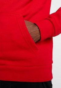 adidas Originals - TREFOIL HOODIE UNISEX - Hoodie - scarlet/white - 5