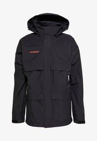 HERITAGE HS - Hardshell jacket - black