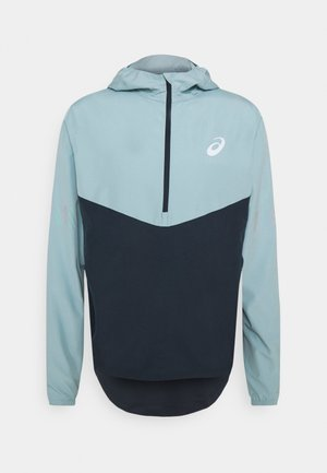 VISIBILITY JACKET - Veste de running - smoke blue/french blue