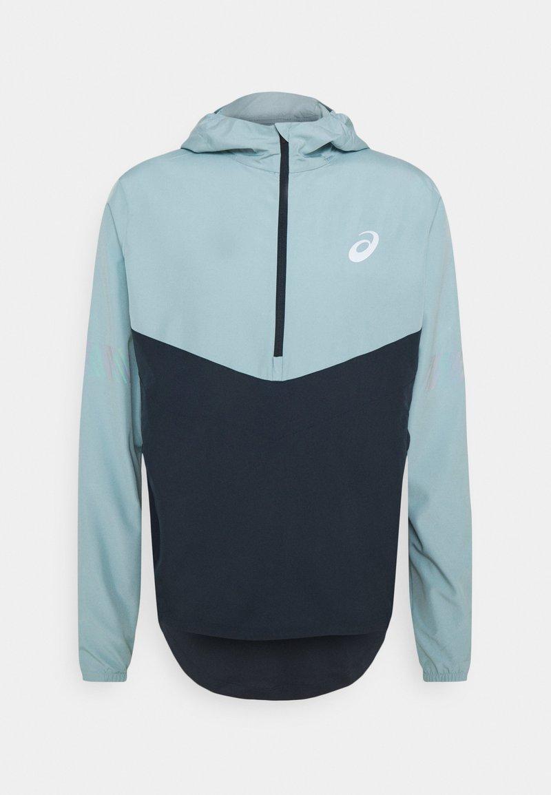 ASICS - VISIBILITY JACKET - Sports jacket - smoke blue/french blue