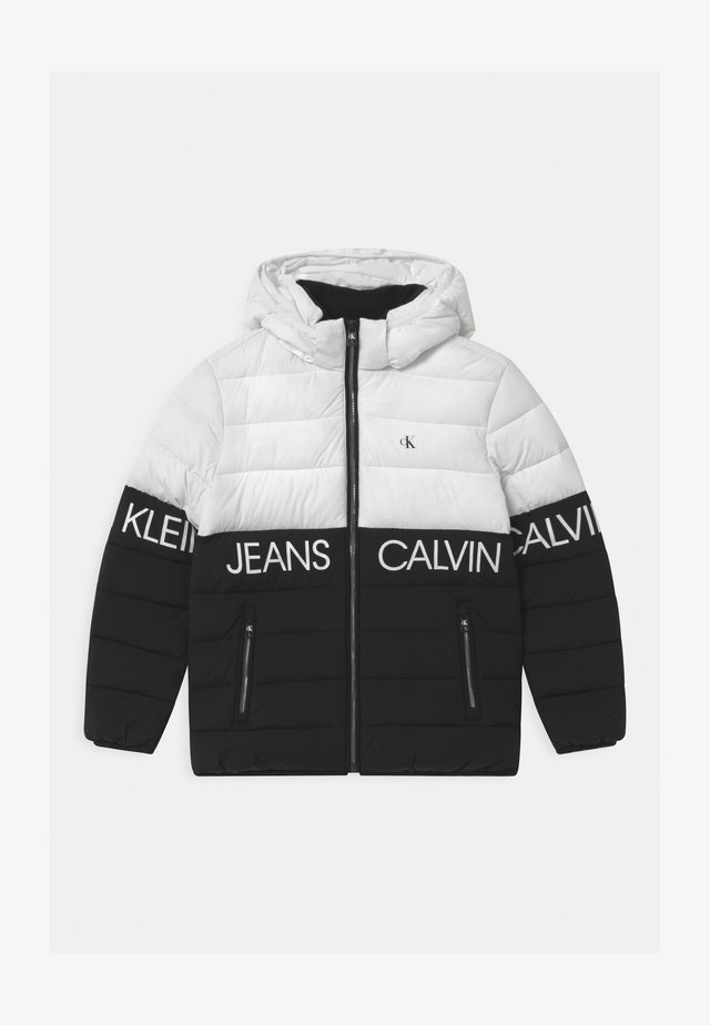 STRETCH COLOUR BLOCK - Winter jacket - white