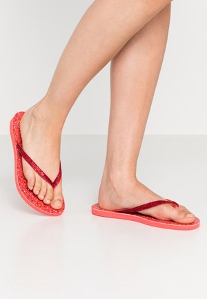 SLIM CARNAVAL - Pool shoes - coral new