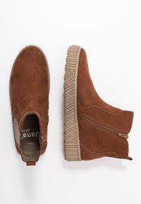 Jana - Ankle boots - chestnut - 3