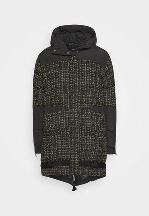 GIANMARIA QUILTED COAT - Vinterkappa /-rock - black