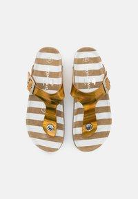TOM TAILOR - Sandály s odděleným palcem - yellow - 5