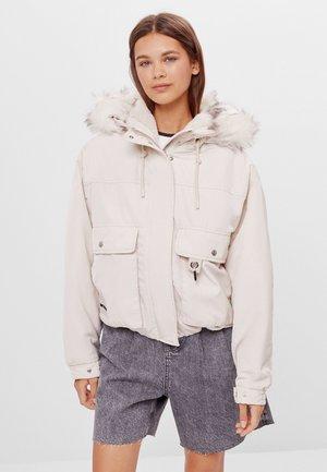 Zimní bunda - stone