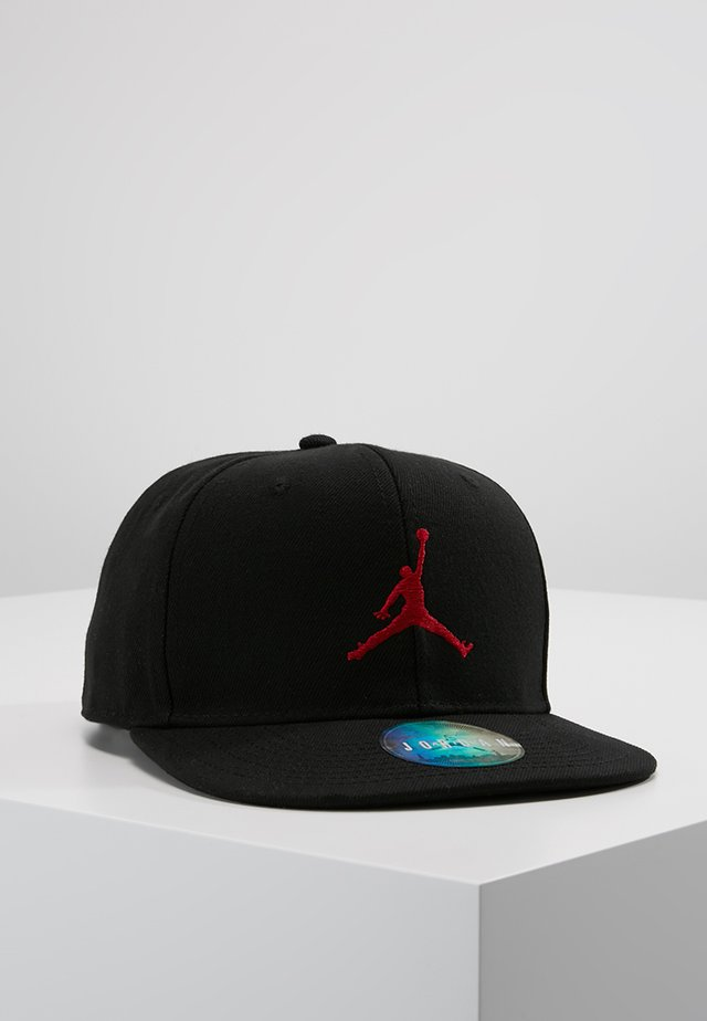 JUMPMAN SNAPBACK - Czapka z daszkiem - black/gym red