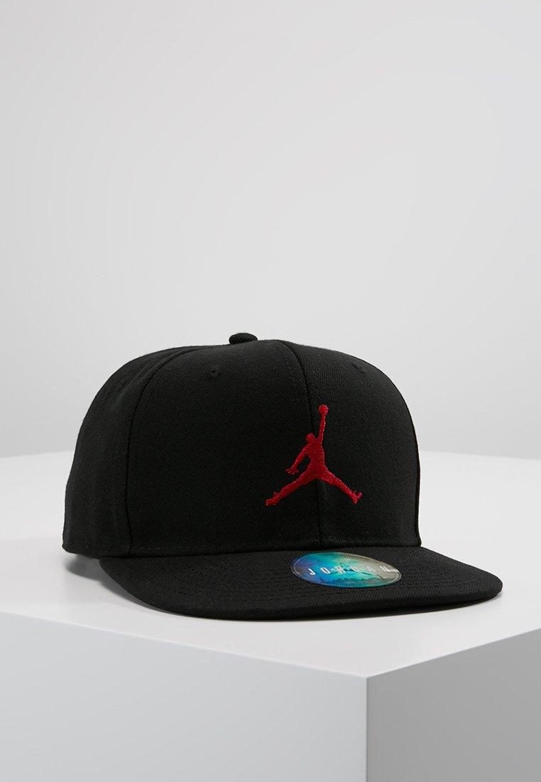 Jordan - JUMPMAN SNAPBACK - Cap - black/gym red